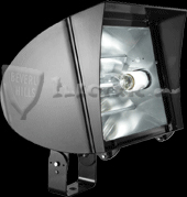 RAB FXLH350TPSQ/PC FlexFlood XL Trunnion, Metal Halide 350 Watt