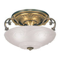Hudson Valley 753  Ganton Three Light Flush Mount