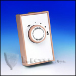 Fantech FAT 10 Attic Thermostat  80 - 130 deg., 115V/22A