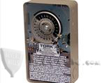 TORK 7302L 24-HR TIME SWITCH WITH SKIP-A-DAY FEATURE, WITH RESERVE POWER