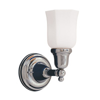 Hudson Valley 861 Historic One Light Wall Sconce Fixture with Glass Option