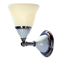 Hudson Valley 461 Porcelain One Light Wall Sconce