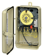 Intermatic T104R3 Pool/Spa Time Switch, T100 Series