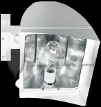 RAB FXLH250XQT/PC FlexFlood XL Wall Mount, Metal Halide 250 Watt
