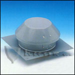 Fantech REC10XL Roof Exhauster Attic Ventilation, Base for Installation with Curb 753 CFM