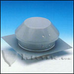 Fantech RE10XL Roof Exhauster Attic Ventilation, Base for Installation without Curb 753 CFM
