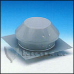 Fantech RE10XLT Roof Exhauster Attic Ventilation, Base for Installation without Curb 1008 CFM