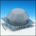 Fantech REC8XL Roof Exhauster Attic Ventilation, Base for Installation with Curb 409 CFM