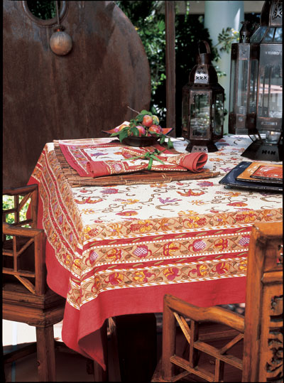 French Linen Tablecloths Country Organdy Table Cloths And Linens