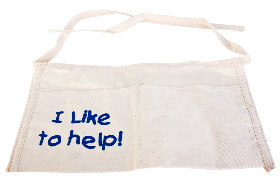 """I Like to Help"" Costume Apron"