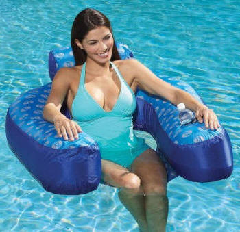 Designer Loop Floating Lounger