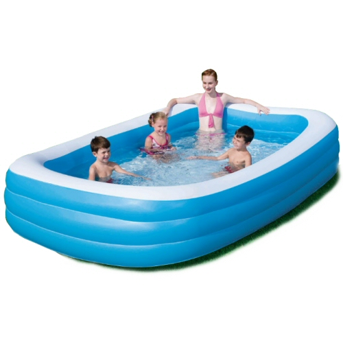 Splash & Play Deluxe Inflatable Pool