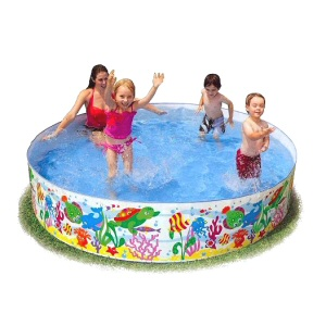 "Fill N Fun Snapset 96"" Diameter Kiddie Pool"