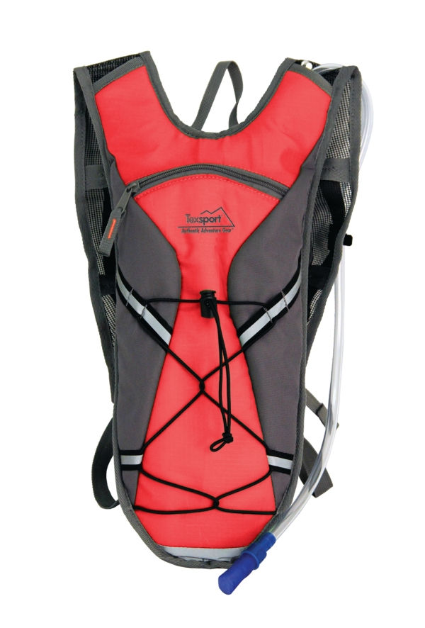 Medina Hydration Pack (Color: Flame Scarlet/Gray)