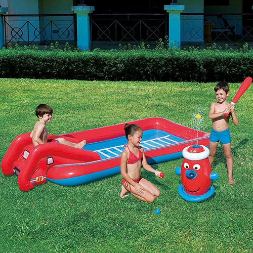 Splash & Play Interactive Fire Truck Pool