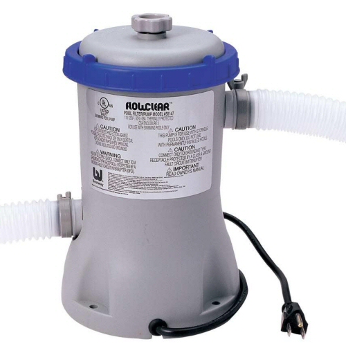 Bestway pool pumps above ground pool filter pump systems for Best above ground pool pump