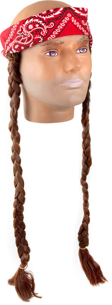 Country Singer Costume Wig