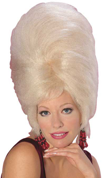 Classic Blonde Beehive Wig