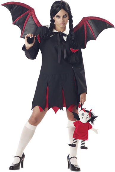 Adult Gothic Bat Girl Costume