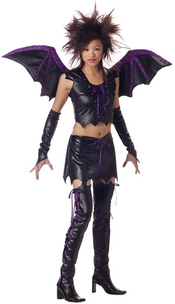 Teen Vixen Bat Girl Costume