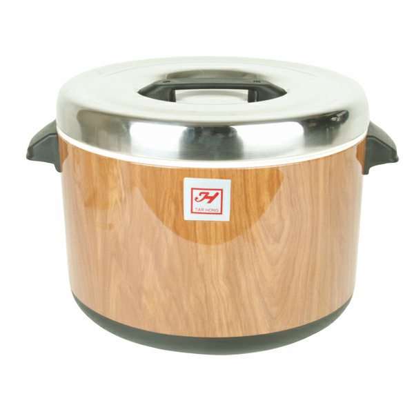40 Cup Woodgrain Rice Warmer