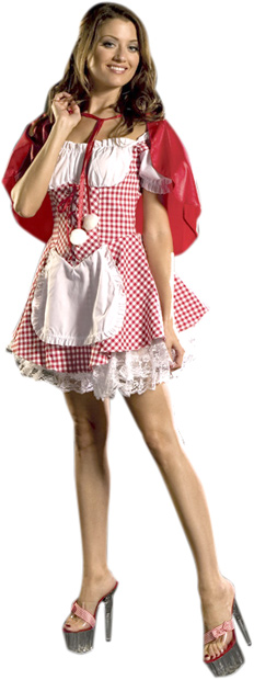 Adult Red Riding Hood Storybook Costume