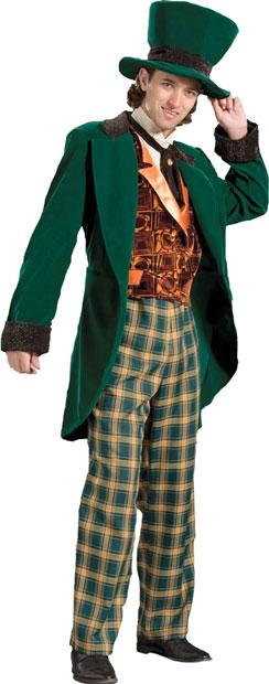 Traditional Mad Hatter Theater Plus Size Costume