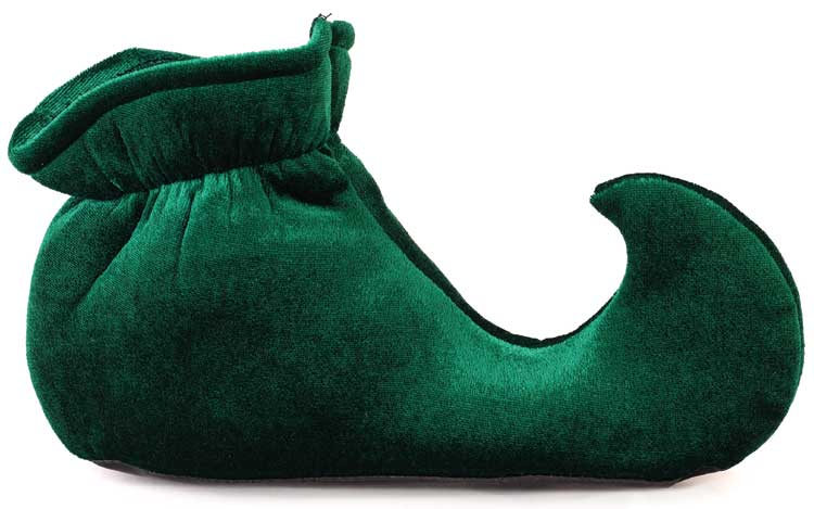 Child's Green Elf Shoes