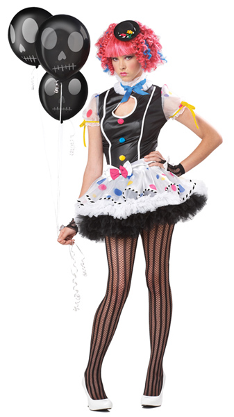 Teen Sexy Clown Costume