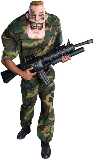 Adult Oversized Army Man Costume