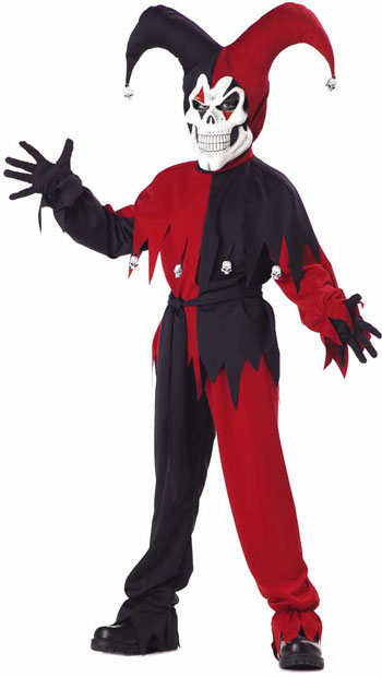Child's Wicked Jester Costume