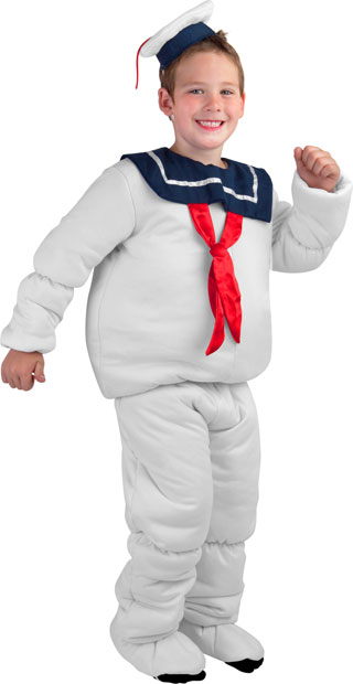 Child's Stay Puft Marshmallow Man Costume