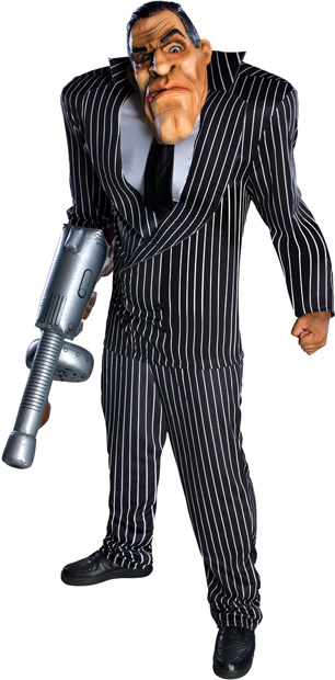 Adult Oversized Gangster Costume