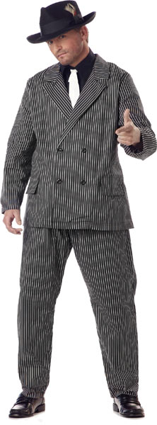 Plus Size Gangster Costume