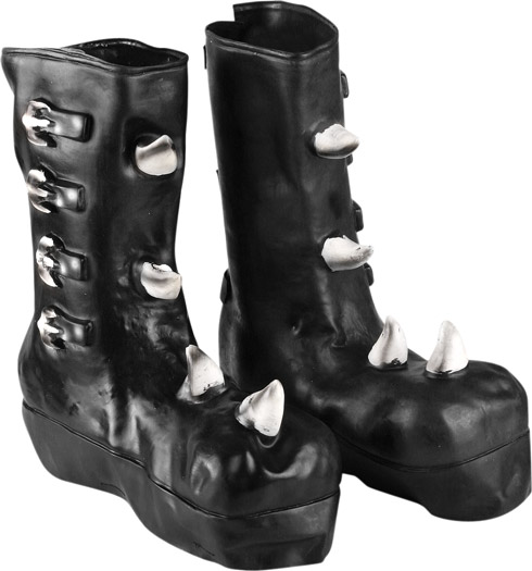 Boys Gothic Boot Covers
