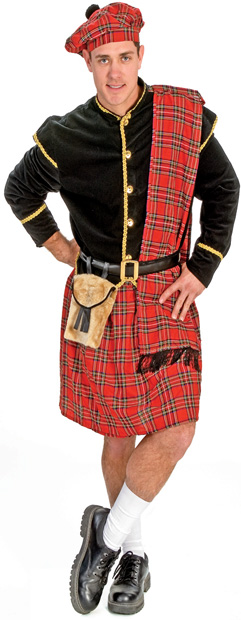 Adult Traditional Scottish Costume