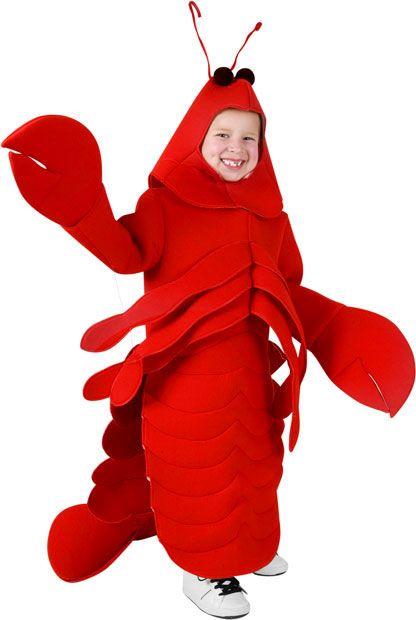 Child's Lobster Costume