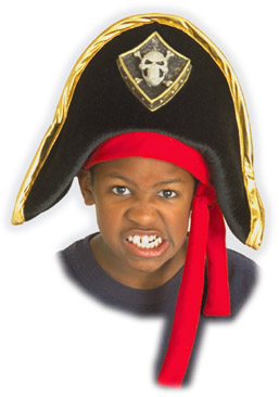 Child's Soft Pirate Hat