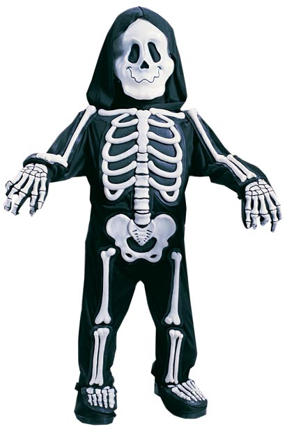 Child's Skeleton Bones Costume