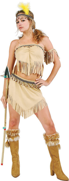 Sexy Navajo Indian Costume