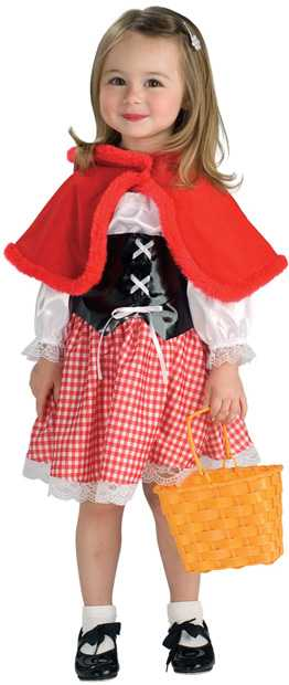 Child's Adorable Little Red Ridinghood Costume