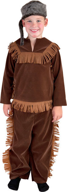 Child's Premier Daniel Boone Costume