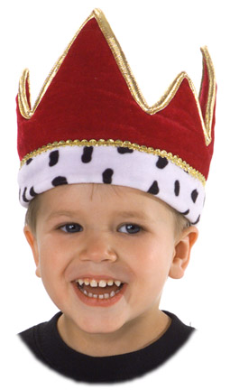 Child's Red Crown