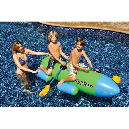 Outrigger Pool Float