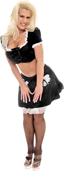 Crop Top French Maid Costume