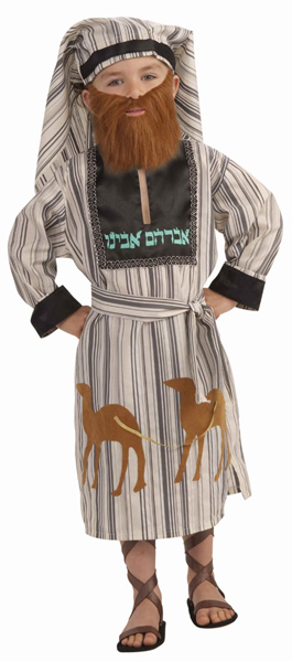 Abraham Purim Costume