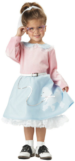 Toddler 50s Poodle Dress Costume  sc 1 st  Brands On Sale & Poodle Skirt Costumes | 1950s Costumes | brandsonsale.com