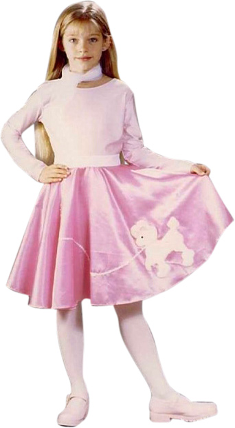 Girlu0027s 50s Poodle Skirt Costume  sc 1 st  Brands On Sale & Poodle Skirt Costumes | 1950s Costumes | brandsonsale.com