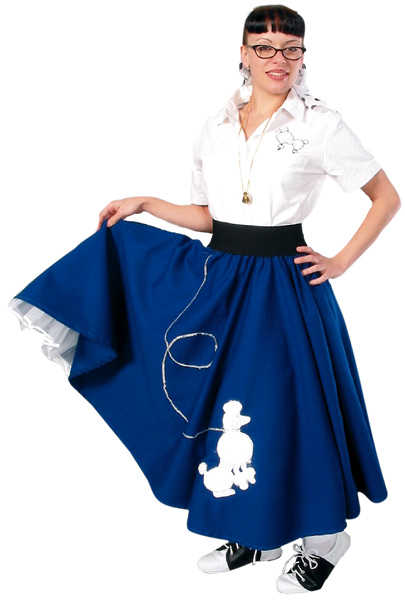 50s Long Poodle Skirt