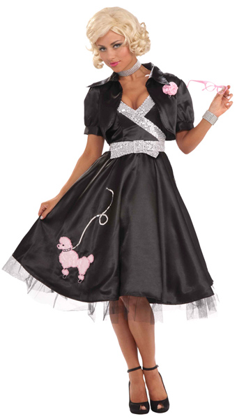 Classy 50s Poodle Skirt